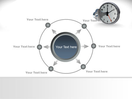 Key To Time Management PowerPoint Template Slide 7