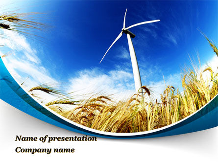Environmentally Friendly Agriculture PowerPoint Template, 09612, Nature & Environment — PoweredTemplate.com