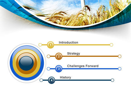 Environmentally Friendly Agriculture PowerPoint Template, Slide 3, 09612, Nature & Environment — PoweredTemplate.com