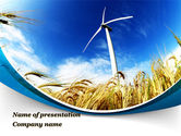 Nature & Environment: Environmentally Friendly Agriculture PowerPoint Template #09612
