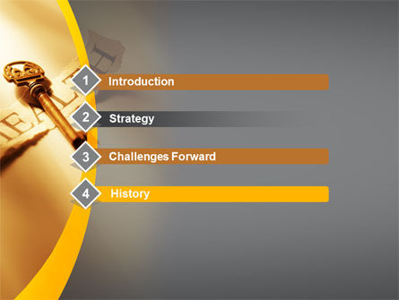 Key of Health PowerPoint Template, Slide 3, 09614, Health and Recreation — PoweredTemplate.com