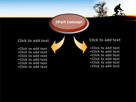 Bicycle Tour PowerPoint Template, Slide 4, 09619, Health and Recreation — PoweredTemplate.com