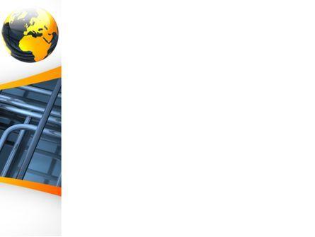 Global Pipeline PowerPoint Template, Slide 3, 09621, Careers/Industry — PoweredTemplate.com