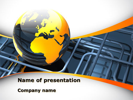 Oil Refinery PowerPoint Templates and Backgrounds for Your