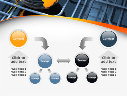 Global Pipeline PowerPoint Template Slide 19
