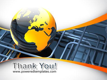 Global Pipeline PowerPoint Template Slide 20