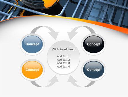 Global Pipeline PowerPoint Template Slide 6