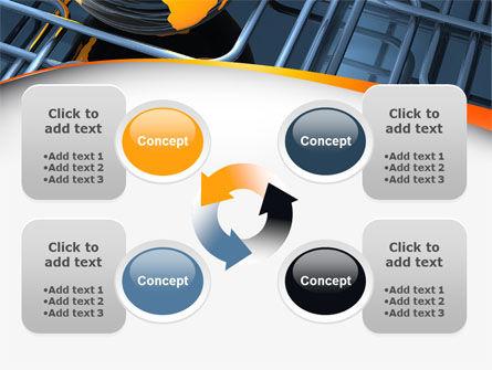 Global Pipeline PowerPoint Template Slide 9