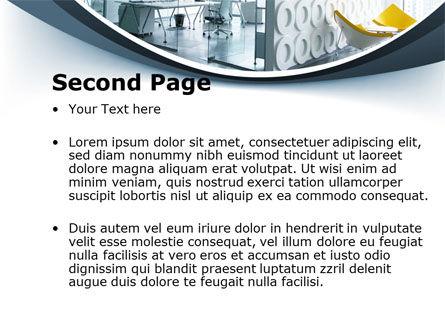 Modern Office Space PowerPoint Template, Slide 2, 09624, Construction — PoweredTemplate.com