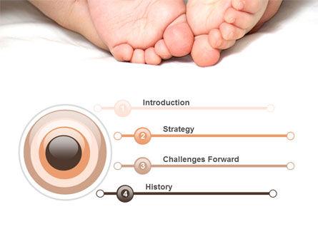 Baby Massage PowerPoint Template, Slide 3, 09625, People — PoweredTemplate.com