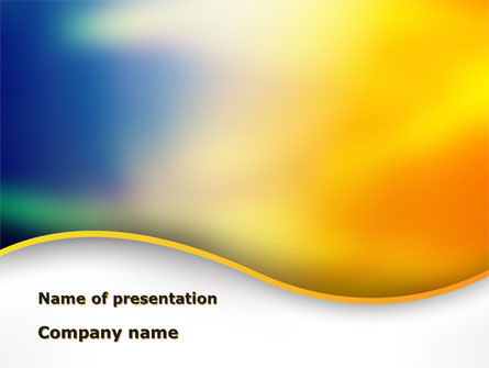 Abstract Wave PowerPoint Template