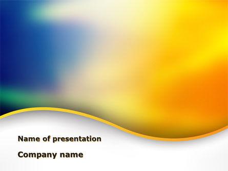 Abstract/Textures: Templat PowerPoint Gelombang Abstrak #09630