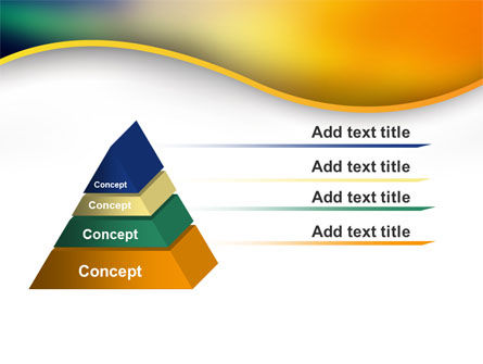 Abstract Wave PowerPoint Template Slide 12