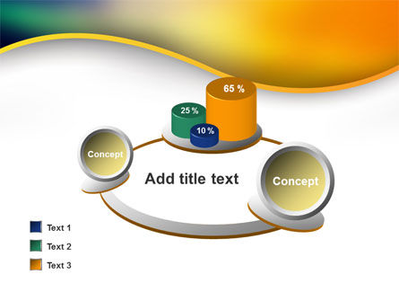 Abstract Wave PowerPoint Template Slide 16