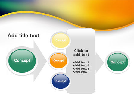 Abstract Wave PowerPoint Template Slide 17