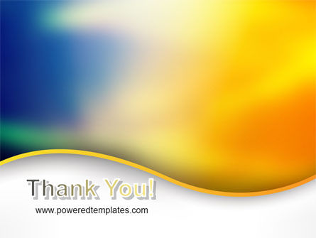 Abstract Wave PowerPoint Template Slide 20