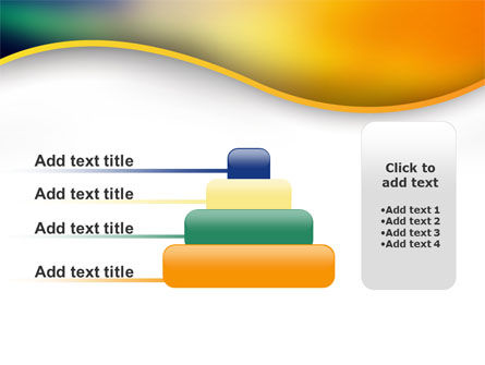 Abstract Wave PowerPoint Template Slide 8