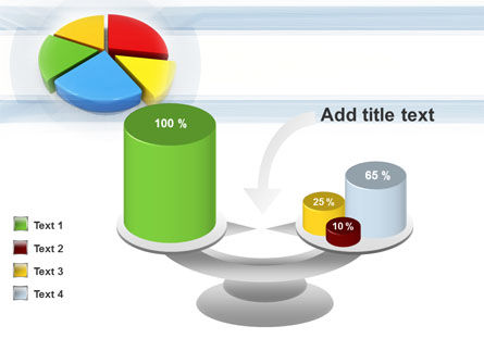 Pie Diagram In 3D PowerPoint Template Slide 10