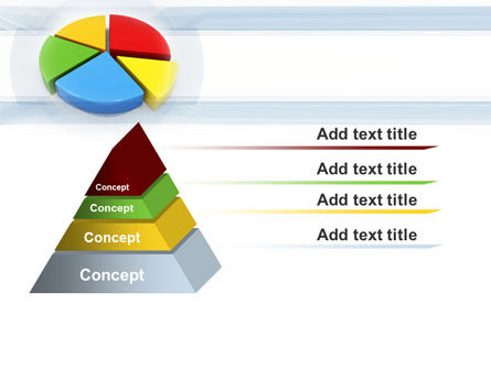Pie Diagram In 3D PowerPoint Template Slide 12