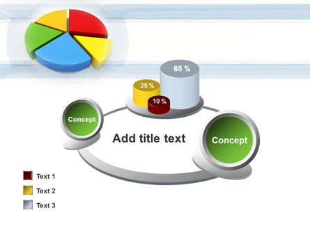 Pie Diagram In 3D PowerPoint Template Slide 16