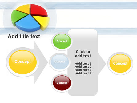 Pie Diagram In 3D PowerPoint Template Slide 17