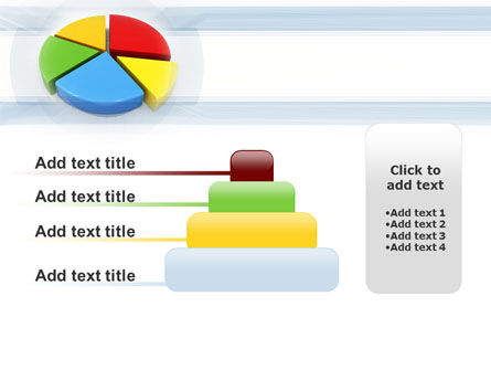 Pie Diagram In 3D PowerPoint Template Slide 8