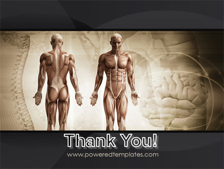 Male Body Anatomy PowerPoint Template Slide 20