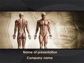 Male Body Anatomy PowerPoint Template#1