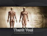 Male Body Anatomy PowerPoint Template#20