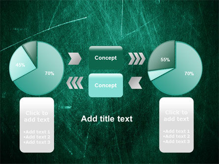 Painted Dark Green PowerPoint Template Slide 16