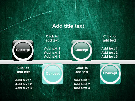 Painted Dark Green PowerPoint Template Slide 18