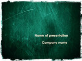 Abstract/Textures: Painted Dark Green PowerPoint Template #09635