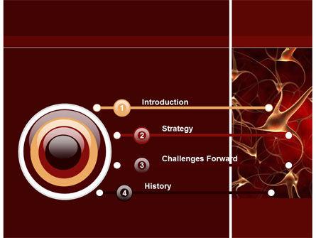 Nerve Cell PowerPoint Template, Slide 3, 09636, Medical — PoweredTemplate.com