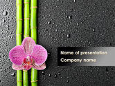 Health and Recreation: Orchidee Op Bamboe PowerPoint Template #09637