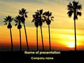 Health and Recreation: Templat PowerPoint Matahari Terbenam Di Pulau Tropis #09639