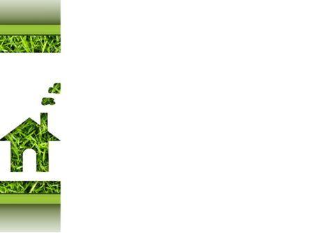 Green House Idea PowerPoint Template, Slide 3, 09640, Real Estate — PoweredTemplate.com