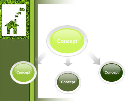 Green House Idea PowerPoint Template, Slide 4, 09640, Real Estate — PoweredTemplate.com