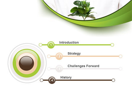 Burgeon PowerPoint Template, Slide 3, 09641, Nature & Environment — PoweredTemplate.com