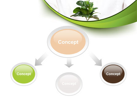 Burgeon PowerPoint Template, Slide 4, 09641, Nature & Environment — PoweredTemplate.com
