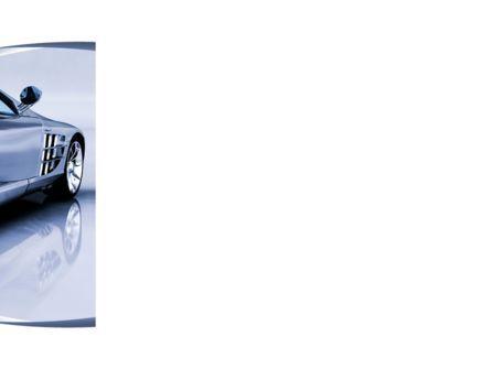 Sports Car Design PowerPoint Template, Slide 3, 09643, Cars and Transportation — PoweredTemplate.com