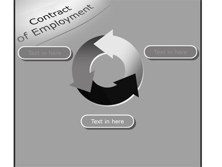 Contract Of Employment PowerPoint Template Slide 9