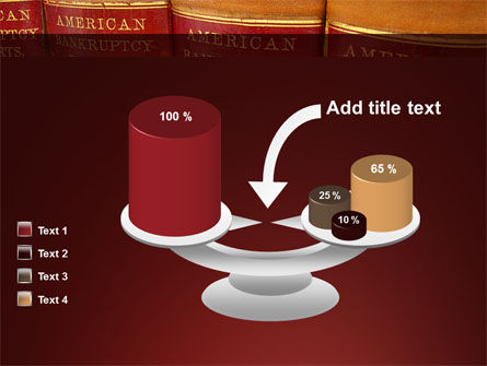 American Bankruptcy Law PowerPoint Template Slide 10