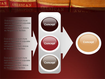American Bankruptcy Law PowerPoint Template Slide 11