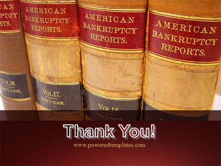 American Bankruptcy Law PowerPoint Template Slide 20