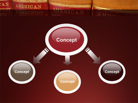 American Bankruptcy Law PowerPoint Template, Slide 4, 09647, Financial/Accounting — PoweredTemplate.com