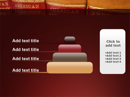 American Bankruptcy Law PowerPoint Template Slide 8