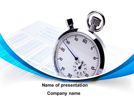 Consulting: Time Management Tool PowerPoint Template #09649