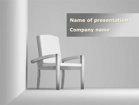 Chairman's Armchair PowerPoint Template