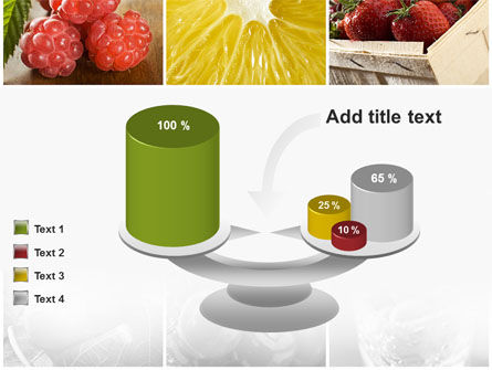 Vitaminized Berry PowerPoint Template Slide 10
