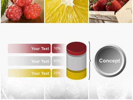 Vitaminized Berry PowerPoint Template Slide 11